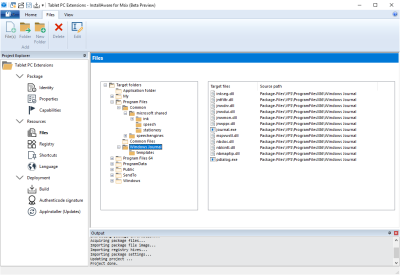 InstallAware is the first and only third party to ship a full featured MSIX Editor IDE