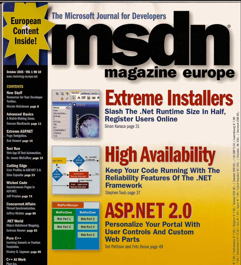 InstallAware Featured Article On MSDN