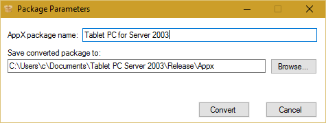 InstallAware Windows Installer APPX Builder - InstallAware