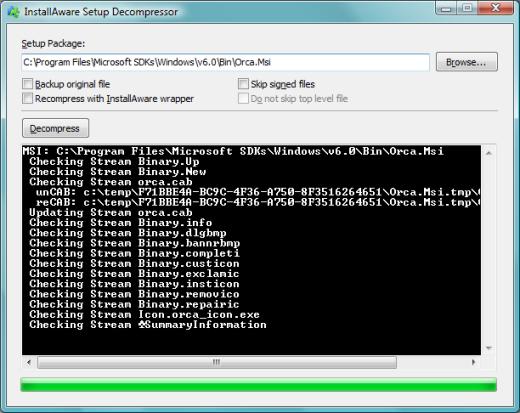 InstallAware Windows Installer Web Deployment - Repack