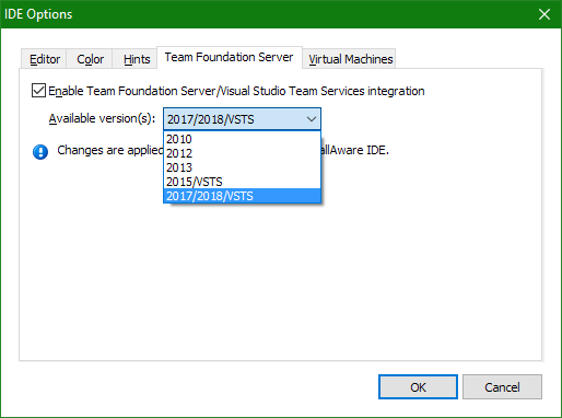 InstallAware Windows Installer Team Foundation Server