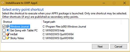 InstallAware APPX Builder